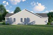 Craftsman Style House Plan - 3 Beds 2 Baths 1510 Sq/Ft Plan #1064-61