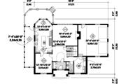 European Style House Plan - 3 Beds 2 Baths 2961 Sq/Ft Plan #25-4774 Floor Plan - Main Floor Plan