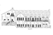 Craftsman Exterior - Rear Elevation Plan #437-112
