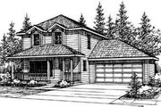 Farmhouse Style House Plan - 3 Beds 2.5 Baths 1521 Sq/Ft Plan #124-315