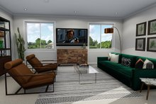 House Plan Design - Family Room