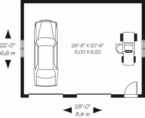 Craftsman Floor Plan - Main Floor Plan Plan #23-771