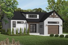 Craftsman Exterior - Front Elevation Plan #23-2304