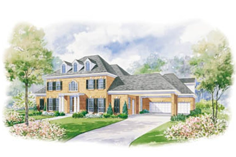 Southern Exterior - Front Elevation Plan #20-1185 - Houseplans.com