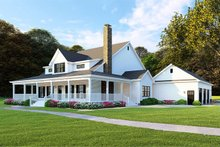 Home Plan - Farmhouse Exterior - Front Elevation Plan #923-108