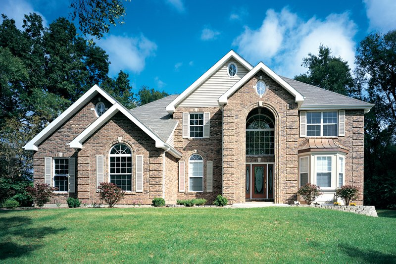 House Plan Design - Traditional Exterior - Front Elevation Plan #57-127