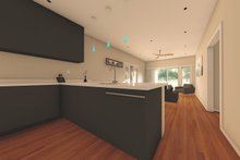 House Plan Design - Contemporary Interior - Kitchen Plan #126-177
