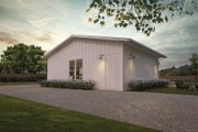 Ranch Style House Plan - 0 Beds 0 Baths 832 Sq/Ft Plan #888-14 Exterior - Rear Elevation