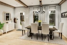 Country Interior - Dining Room Plan #406-9659