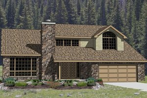 Traditional Exterior - Front Elevation Plan #116-214