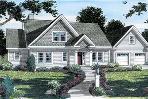 Farmhouse Exterior - Front Elevation Plan #312-585
