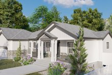 Home Plan - Ranch Exterior - Front Elevation Plan #1060-99