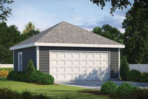 Dream House Plan - Traditional Exterior - Front Elevation Plan #20-2377