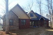European Style House Plan - 4 Beds 3.5 Baths 2281 Sq/Ft Plan #927-15 Exterior - Front Elevation