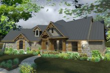 Dream House Plan - Craftsman Exterior - Front Elevation Plan #120-172
