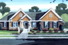 Traditional Exterior - Front Elevation Plan #46-451