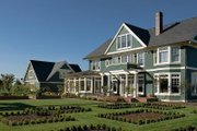 Colonial Style House Plan - 6 Beds 5 Baths 5180 Sq/Ft Plan #48-151 Exterior - Rear Elevation