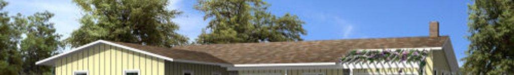 T-Shaped House Plans, Floor Plans & Designs