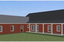 Farmhouse Exterior - Other Elevation Plan #44-187