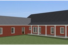 Home Plan - Farmhouse Exterior - Other Elevation Plan #44-187