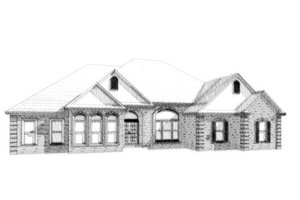 Traditional Exterior - Front Elevation Plan #63-327