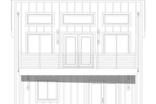 Architectural House Design - Contemporary Exterior - Rear Elevation Plan #932-47