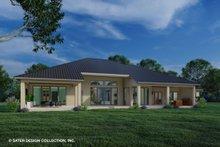 House Plan Design - Modern Exterior - Rear Elevation Plan #930-518