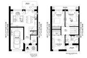 Modern Style House Plan - 3 Beds 1.5 Baths 952 Sq/Ft Plan #538-1 Floor Plan - Main Floor