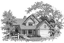 Dream House Plan - Traditional Exterior - Front Elevation Plan #70-285