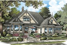 Dream House Plan - European Exterior - Front Elevation Plan #929-21