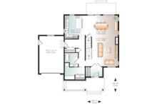 Craftsman Floor Plan - Main Floor Plan Plan #23-2659