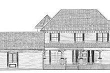 Victorian Exterior - Rear Elevation Plan #72-137