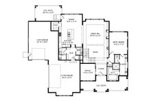 Craftsman Floor Plan - Main Floor Plan Plan #920-102