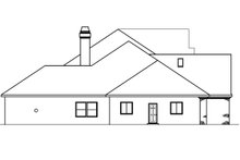 Home Plan - European Exterior - Other Elevation Plan #124-461
