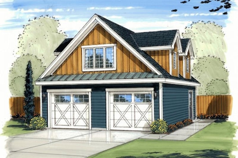 Traditional Exterior - Front Elevation Plan #455-143