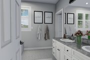 Traditional Style House Plan - 3 Beds 2.5 Baths 1999 Sq/Ft Plan #1060-46 Interior - Master Bathroom