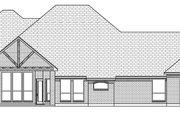 Tudor Style House Plan - 4 Beds 3 Baths 2740 Sq/Ft Plan #84-591 Exterior - Rear Elevation