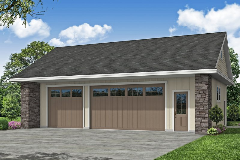 House Plan Design - Traditional Exterior - Front Elevation Plan #124-1225