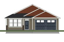 House Plan Design - Ranch Exterior - Front Elevation Plan #943-51