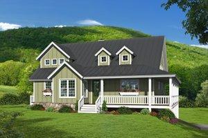 Farmhouse Exterior - Front Elevation Plan #932-34