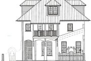 Beach Style House Plan - 3 Beds 4 Baths 2590 Sq/Ft Plan #536-5 Photo