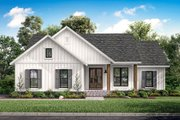 Farmhouse Style House Plan - 3 Beds 2 Baths 1398 Sq/Ft Plan #430-200 Exterior - Front Elevation