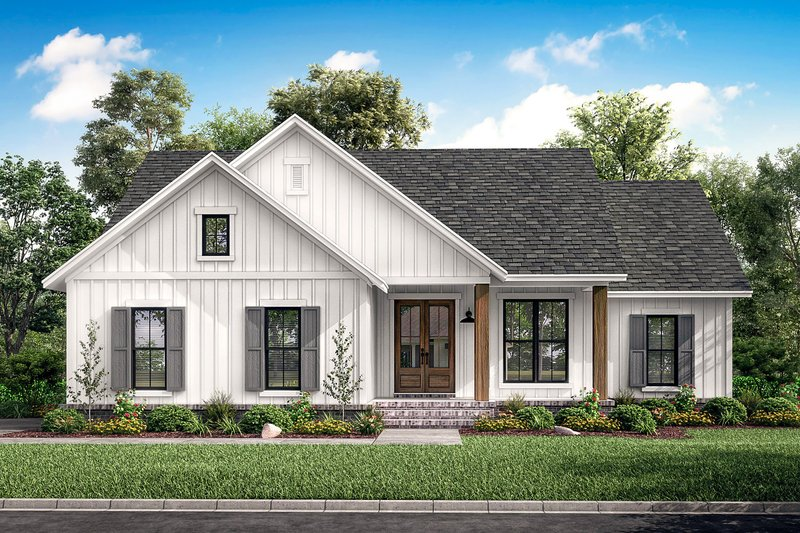 House Design - Farmhouse Exterior - Front Elevation Plan #430-200