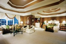 House Design - Country Interior - Master Bedroom Plan #927-37