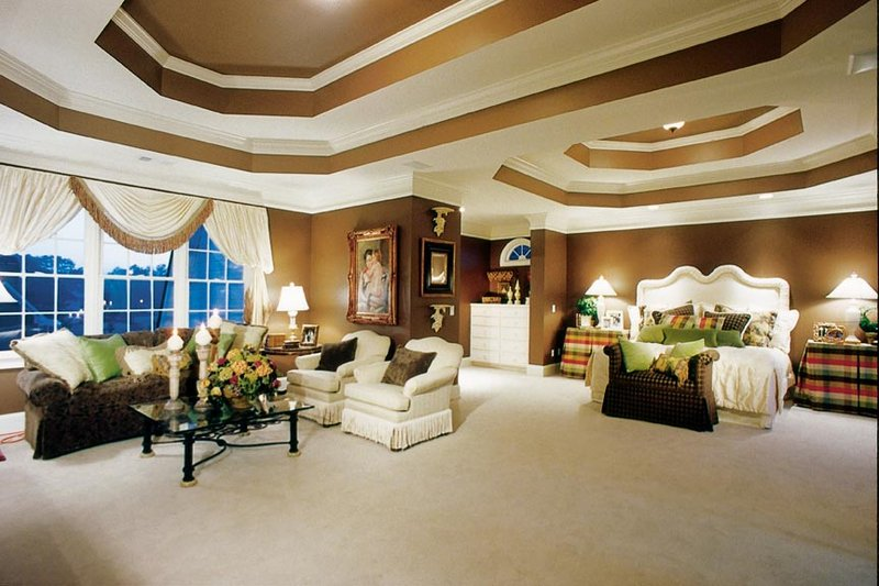Country Interior - Master Bedroom Plan #927-37 - Houseplans.com