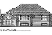 Architectural House Design - Traditional Exterior - Rear Elevation Plan #70-230