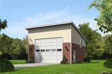 House Plan Design - Contemporary Exterior - Front Elevation Plan #932-226