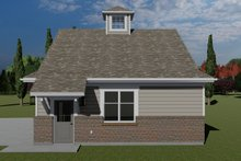 House Plan Design - Traditional Exterior - Other Elevation Plan #1060-98