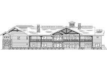 Traditional Exterior - Rear Elevation Plan #5-344