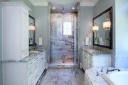 European Style House Plan - 5 Beds 4 Baths 4221 Sq/Ft Plan #929-855 Interior - Master Bathroom